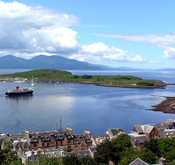 Photo of Oban harbour
