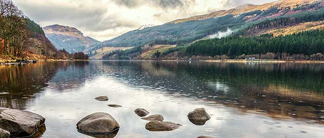 photo of Loch Lubnaig